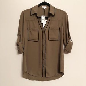 Express Blouse NWT S
